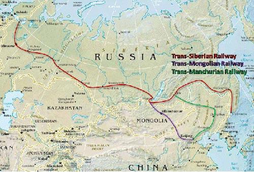 transsibiriska järnvägen karta Resvägar   Transsibiriska Järnvägen transsibiriska järnvägen karta